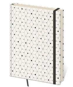 Obrázok Zápisník Vario L tečkovaný design 5