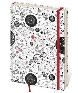 Obrázok Zápisník Vario L tečkovaný design 9