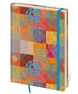 Obrázok Zápisník Vario L tečkovaný design 8