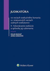 Obrázok Judikatúra vo veciach exekučného konania