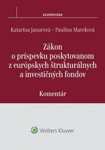 Obrázok Zákon o príspevku poskytovanom z európskych štrukturálnych a investičných fondov