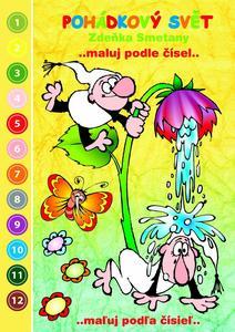 Obrázok Pohádkový svět Zdeňka Smetany Maluj podle čísel