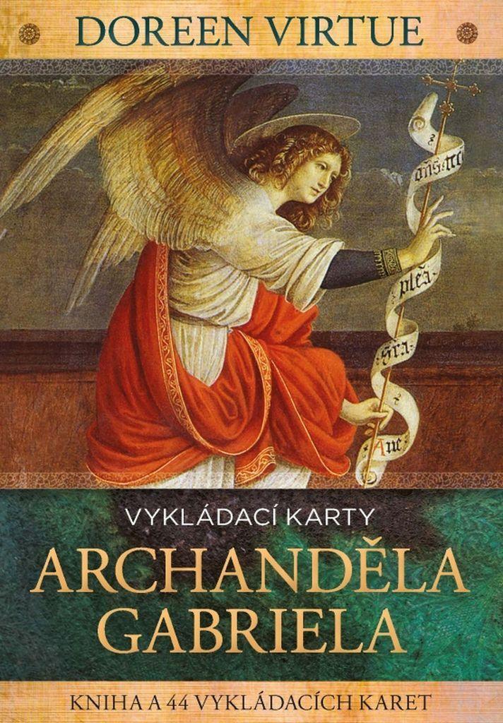 Vykládací karty archanděla Gabriela - Doreen Virtue