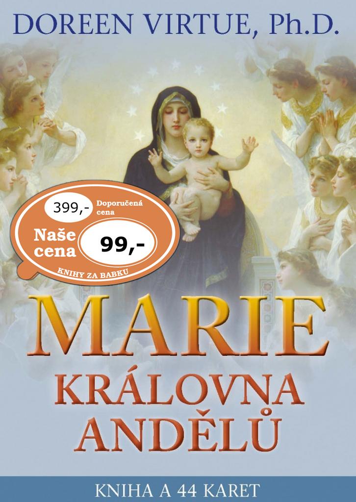 Marie, královna andělů - Doreen Virtue, Lucie Hovjacká