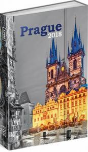 Obrázok Týdenní magnetický diář Praha - diář 2018