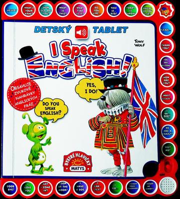 Obrázok I Speak English Detský tablet