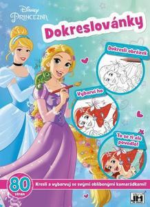 Obrázok Dokreslovánky Disney Princezna