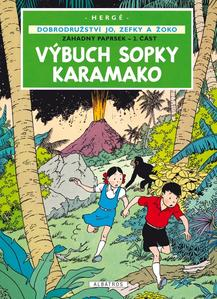 Obrázok Výbuch sopky Karamako (Záhadný paprsek 2. část)