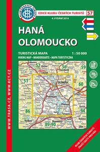 Obrázok KČT 57 Haná Olomoucko 1:50 000