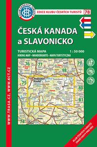 Obrázok KČT 78 Česká Kanada a Slavonicko 1:50 000