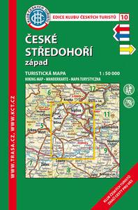 Obrázok KČT 10 České středohoří západ 1:50 000