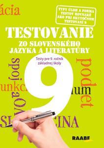 Obrázok Testovanie zo slovenského jazyka a literatúry 9