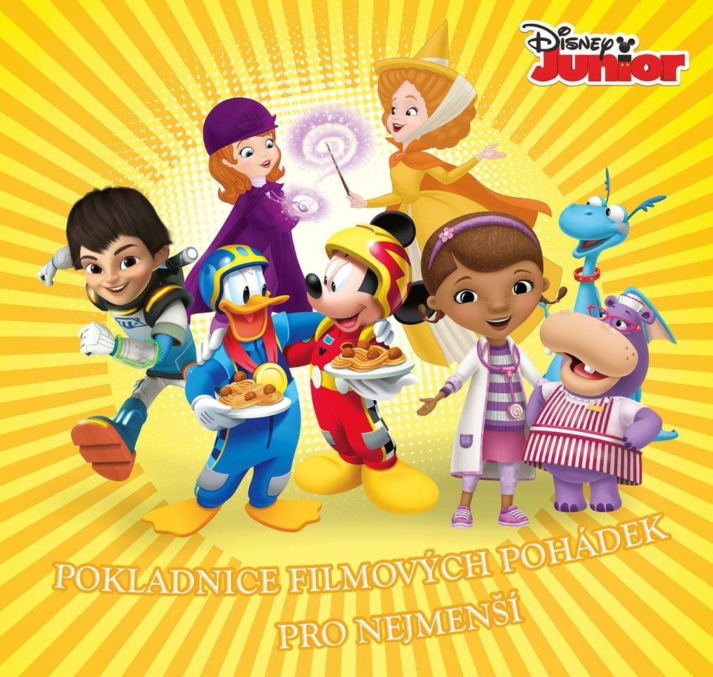 Disney Junior Pokladnice filmových pohádek pro nejmenší