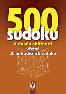 Obrázok 500 sudoku 6 stupňů obtížnosti