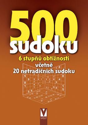 500 sudoku 6 stupňů obtížnosti