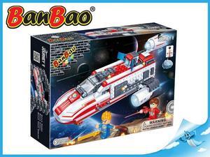 Obrázok BanBao stavebnice Journey V vesmírná loď BB-130 na baterie se světlem 252ks
