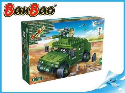 BanBao stavebnice Defence Force vozidlo Humvee 203ks