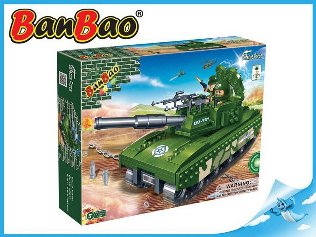 BanBao stavebnice Defence Force tank 308ks
