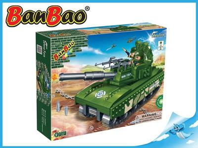 BanBao stavebnice Defence Force tank 308ks
