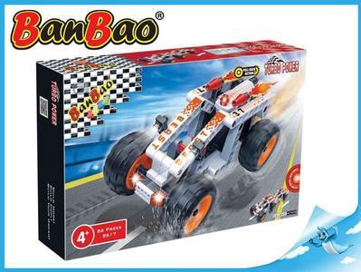 BanBao stavebnice Turbo Power auto Beast zpětný chod