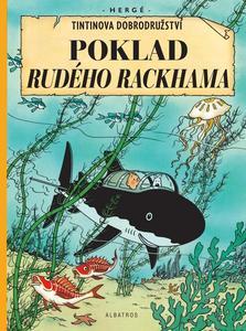 Obrázok Tintin Poklad Rudého Rackhama