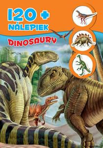 Obrázok Dinosaury + 120 nálepiek
