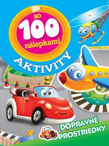 Obrázok Aktivity so 100 nálepkami Dopravné prostriedky