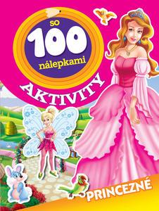 Obrázok Aktivity so 100 nálepkami Princezné