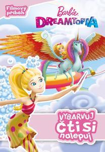 Obrázok Barbie Dreamtopia Vybarvuj, čti si nalepuj