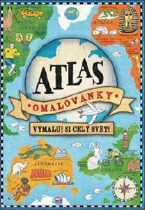Obrázok Atlas omalovánky