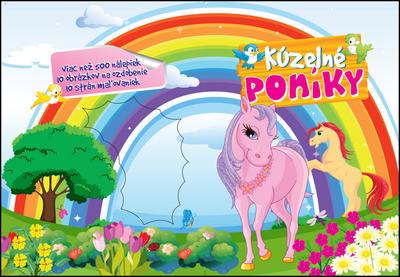 Maľovanky Kúzelné poníky