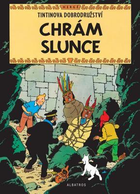 Obrázok Tintin Chrám Slunce