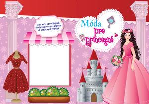 Obrázok Maľovanky Móda pre princezné