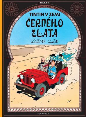 Tintinova dobrodružství Tintin v zemi černého zlata (15)