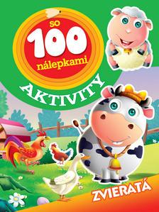 Obrázok Aktivity so 100 nálepkami Zvieratá