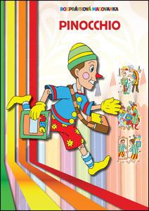 Obrázok Pinocchio Rozprávková maľovanka