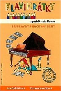 Obrázok Klavihrátky s pastelkami u klavíru - přípravný pracovní sešit
