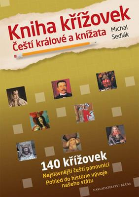 Kniha křížovek Čeští králové a knížata