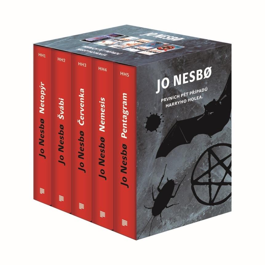 JO NESBO Prvních pět případů Harryho Holea BOX - Jo Nesbo