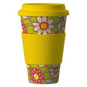 Obrázok Termohrnek Bamboo Cup 400ml Daisy Yellow
