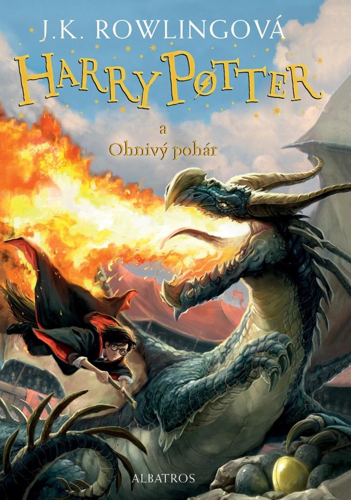 Harry Potter a Ohnivý pohár (4. díl.) - Joanne K. Rowlingová