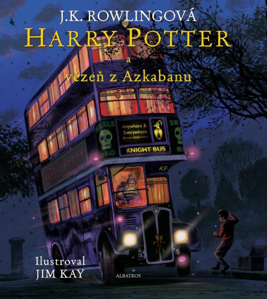 Harry Potter a vězeň z Azkabanu (3. díl, Ilustrované vydání) - Joanne K. Rowlingová