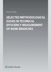 Obrázok Selected Methodological Issues in Technical Efficiency Measurement of Bank Branc