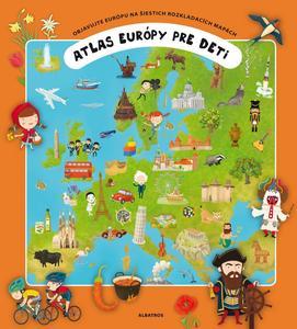 Obrázok Atlas Európy pre deti