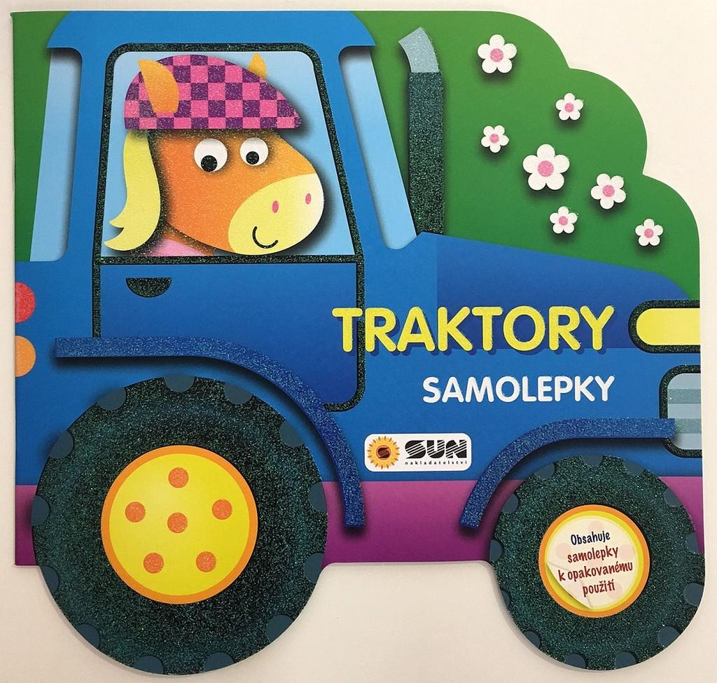 Traktory samolepky
