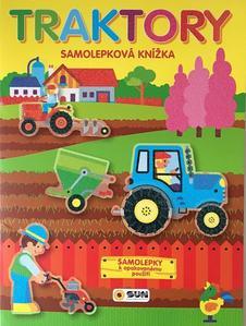 Obrázok Traktory samolepková knížka