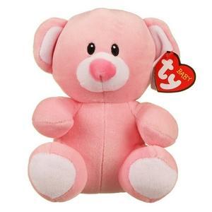 Obrázok Baby Ty Princess růžový medvěd 15 cm