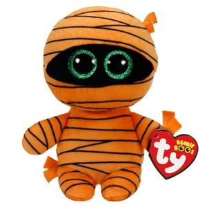 Obrázok Beanie Boos Mask oranžová mumie 15 cm