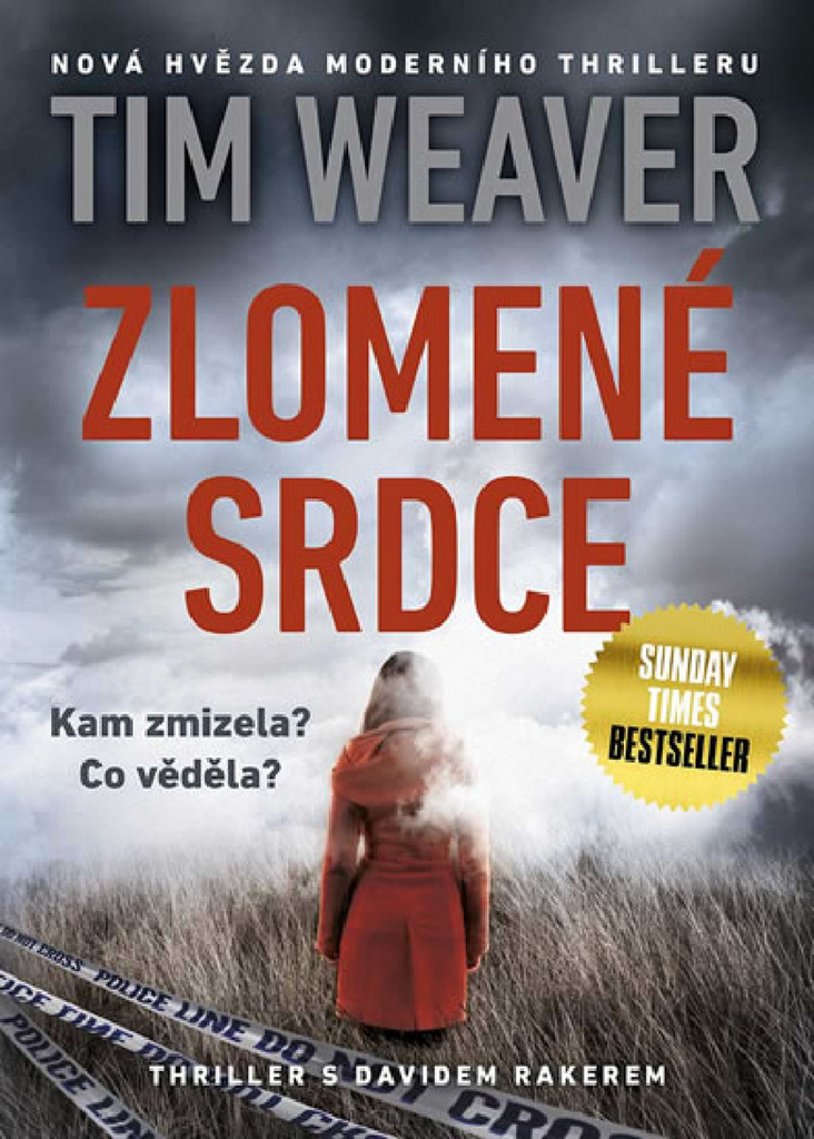 Mystery Press Zlomené srdce - Tim Weaver