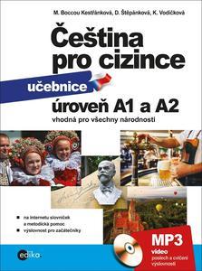 Obrázok Čeština pro cizince úroveň A1 a A2 (obsahuje CD audio)